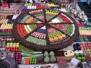 Disusun Cantik, Jejeran Buah dan Sayur di Supermarket Ini Jadi Keren!