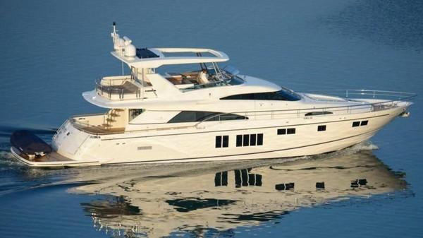 Sergio Ramos dari Real Madrid punya yacht bernama Fairline Squadron 78 yang nilainya diperkirakan mencapai 91 miliar rupiah. Sergio bersantai di atas yacht tersebut beberapa hari sebelum final Liga Champions 2017 lalu (Fairline)