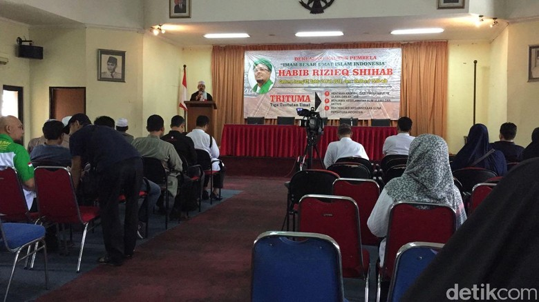 Al Khaththath-Hatta Taliwang Bicara di Kaukus Pembela Habib Rizieq