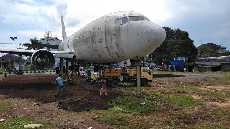 Pesawat misterius di Kedonganan dan Pantai Pandawa (David Saut/detikTravel)