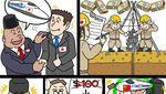 5 Karya Onan Hiroshi Komikus Jepang yang Sindir Jokowi dan Indonesia