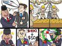 Kereta Cepat Juga Pernah Disindir Komikus Jepang