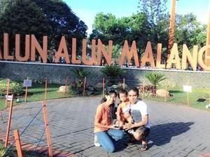 Bersantai di Alun-alun Malang, Asyik Juga!