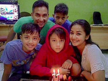 Selamat ulang tahun yang ke-11 Janitra!(Foto: Instagram/ @amaranggana)