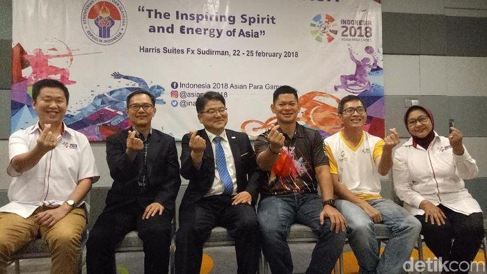 Technal Delegate Asian Para Games 2018 (Amalia Dwi Septi/detikSport)