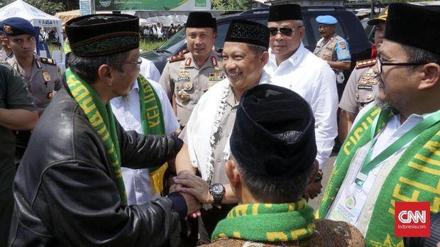 Kapolri Tito mengunjungi ulama dan pimpinan ormas Islam