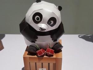 Keren Deh, Bun, Boneka dan Miniatur Ini Terbuat dari Kertas