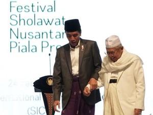 Kesiapan Maruf Amin Jadi Cawapres Jokowi