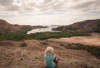 Pulau Rinca yang indah, siapa yang tidak jatuh hati dengan keindahannya (Pradikta Kusuma/d'Traveler)