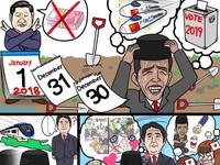 Sindiran Komikus Jepang untuk Proyek Kereta Cepat Jokowi