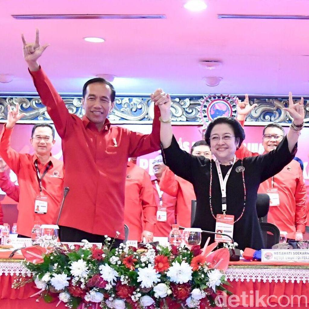 Antara Gaji Besar Megawati dan Pengaman Jokowi di Pilpres 2019