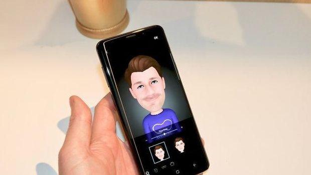 AR Emoji di Galaxy S9 dan S9+.