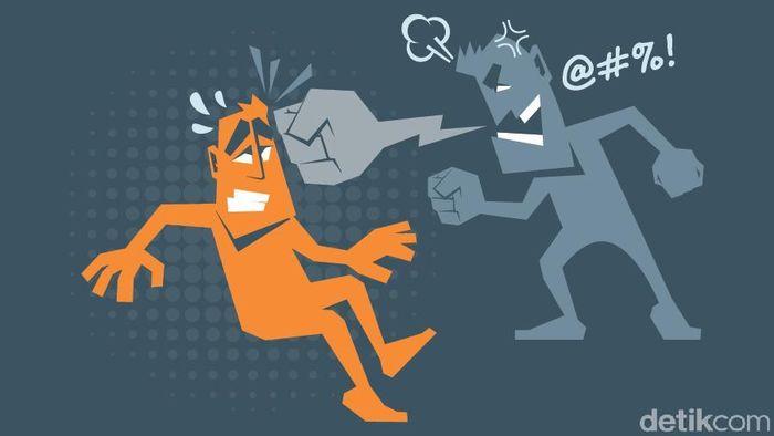 Ilustrasi Ujaran Kebencian (Foto: Andhika Akbaransyah/detikcom)