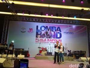 Tutup Lomba Band SMA, Kapolri Minta Generasi Zaman Now Jauhi Narkoba