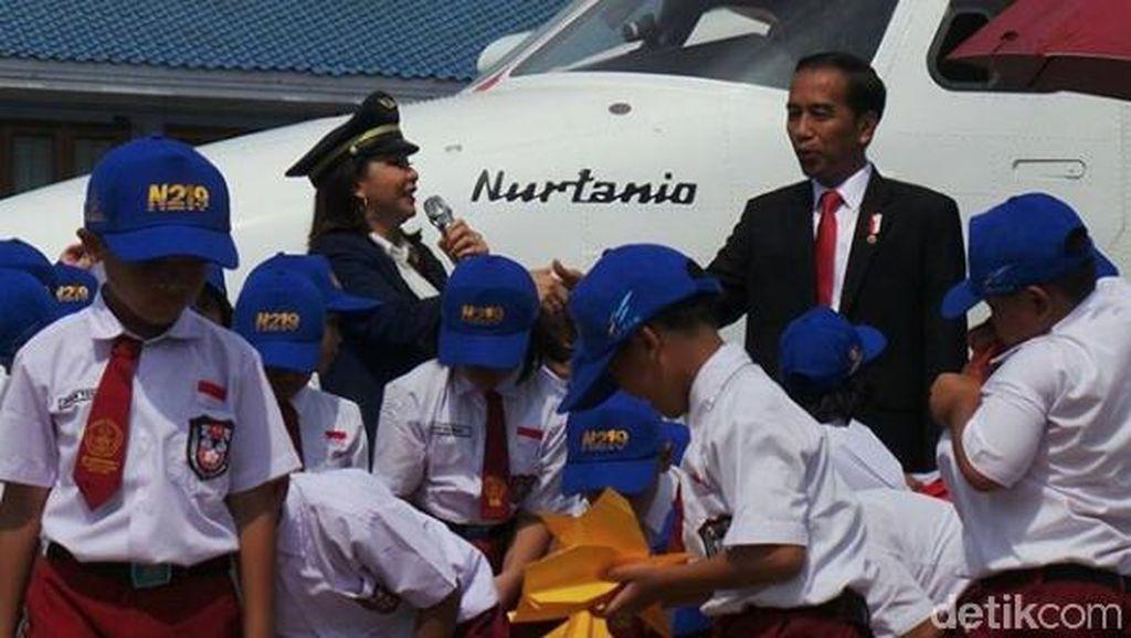 Luhut Mulai Bahas Anggaran Pesawat Nurtanio Buatan Bandung