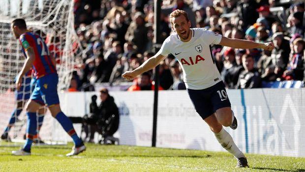 Harry Kane tampil gemilang bersama Tottenham Hotspur musim ini.