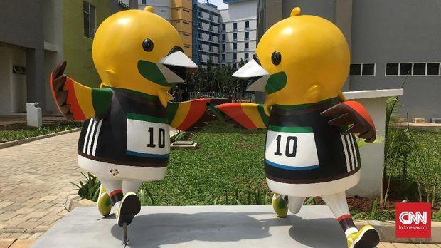 Wisma Atlet Kemayoran untuk Asian Games 2018.