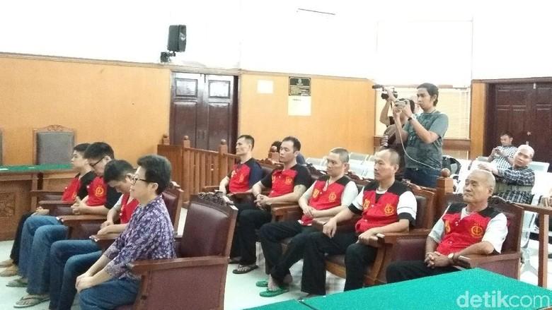 Tak Terima Dihukum Mati, 8 Penyelundup Sabu 1 Ton Ajukan Banding