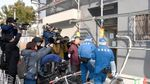 Foto: Lokasi Penemuan Potongan Kepala dalam Koper di Osaka