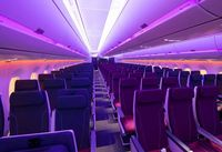 Teknologi LED anti jetlag (Airbus)