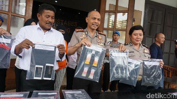 Polisi Bekuk 'Princes Bong' di Bandung