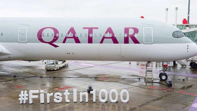 Pesawat Airbus terbaru milik Qatar Airways (Airbus)