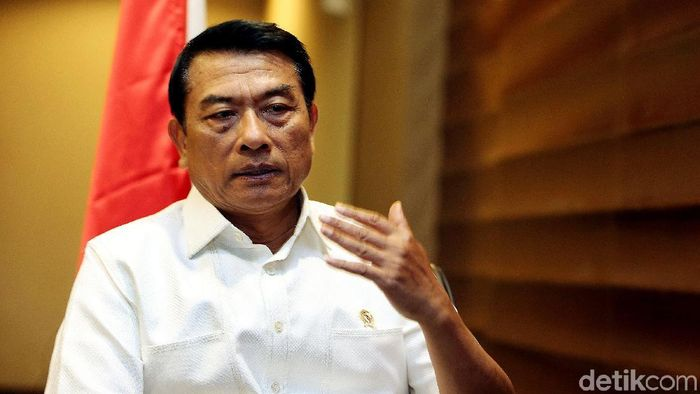 Kepal Staf Kepresidenan Moeldoko/Foto: Rengga Sancaya