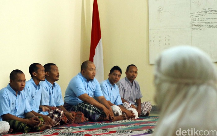 Kegiatan keagamaan dilakukan dengan kerjasama oleh lembaga keagamaan terpilih. (Foto: Rifkianto Nugroho/detikHealth)