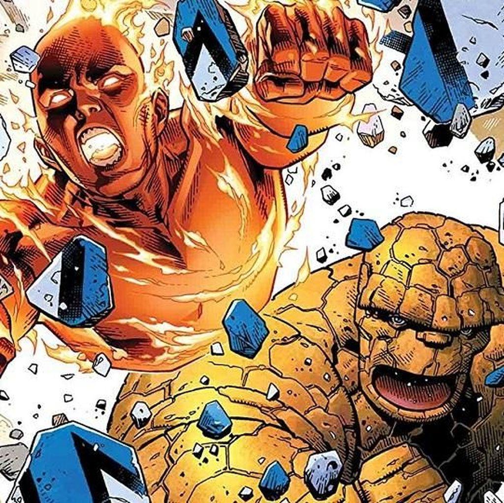Sosok di Balik Kekuatan Fantastic Four Bakal Diungkap Maret 2019