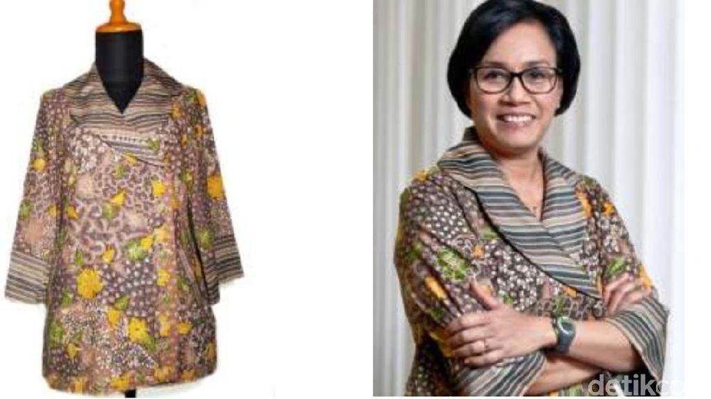 Batik Sri Mulyani Laku Rp 10 Juta, Siapa yang Beli?