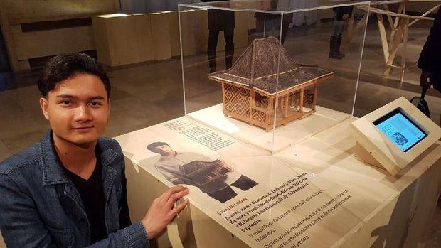 Artefak Warisan Budaya Nusantara Pukau Warga Italia