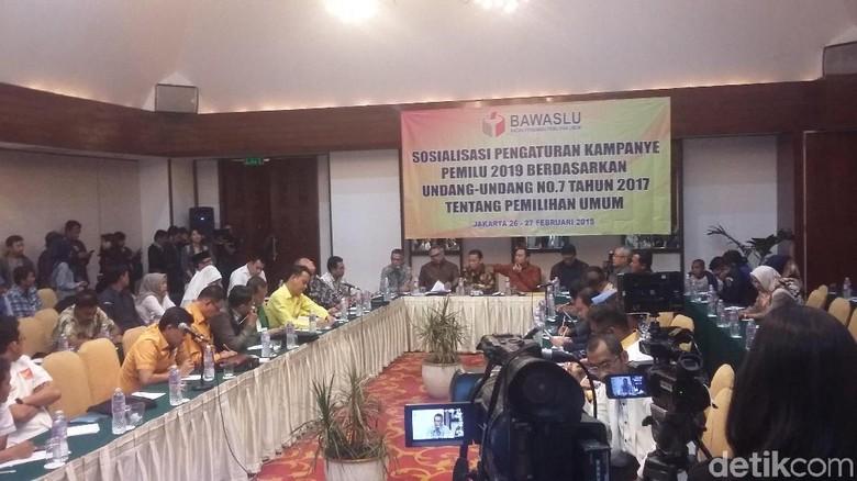 Pemilu 2019, Bawaslu Larang Parpol Kampanye sampai 23 September