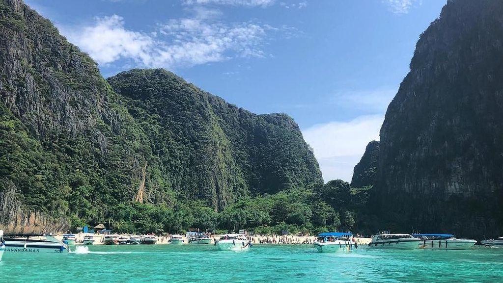 Foto: Terlalu Ramai, Pulau Leonardo DiCaprio Thailand Ditutup