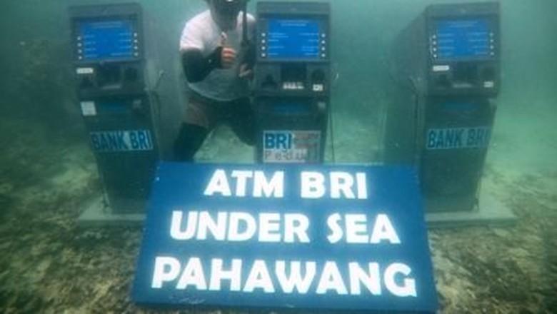 ATM bawah laut di Pahawang (dok MURI)