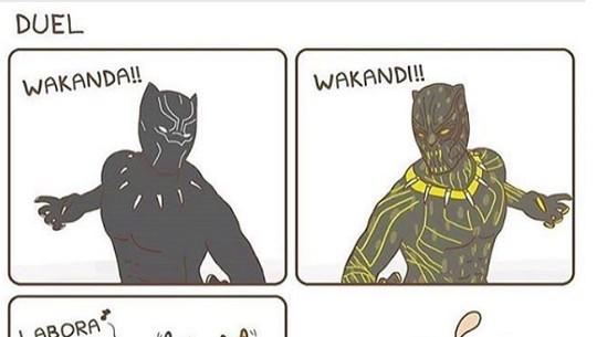 Meme Anyar Black Panther yang Bikin Ngakak dan Belum Kamu Lihat