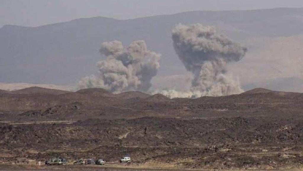 Serangan Udara Saudi Tewaskan 6 Tentara Yaman