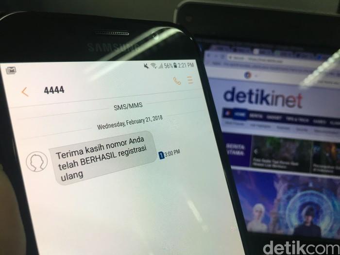 Ilustrasi registrasi SIM card (Foto: detikINET/Agus Tri Haryanto)