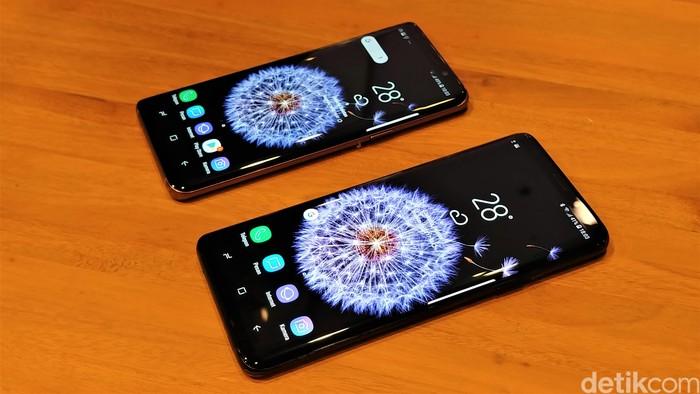 Galaxy S9 dan S9+. Foto: Adi Fida Rahman/detikINET