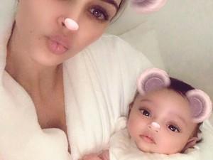 Pesta Ultah ke-1 Putri Kim Kardashian, Tak Kalah Mewah dari Pernikahan