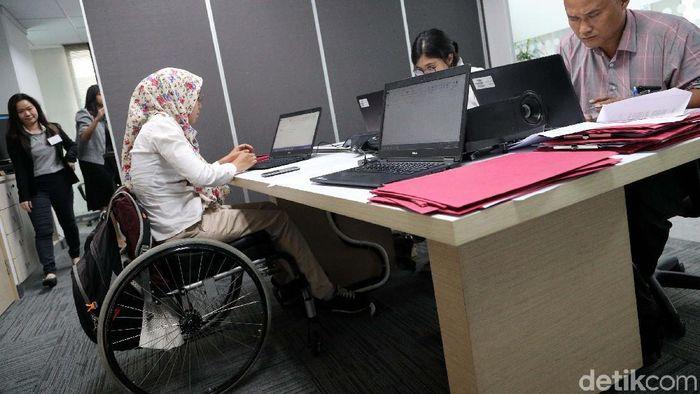 Kesempatan Kaum Difabel Mencari Pekerjaan /Foto: Grandyos Zafna