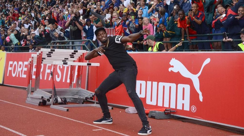 Usain Bolt Pastikan Jadi Pesepakbola... di Pertandingan Amal