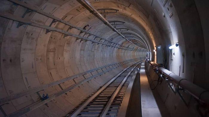 Keren Potret Terkini Terowongan Dan Stasiun Bawah Tanah Mrt Jakarta