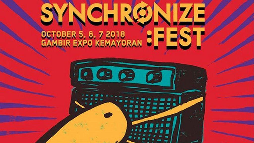 Mau Tiket Gratis Synchronize Fest 2018? Cek di Sini!