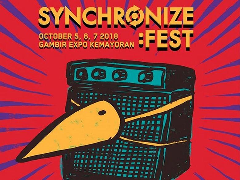 Synchronize Fest 2018 Umumkan Line Up Fase Kedua