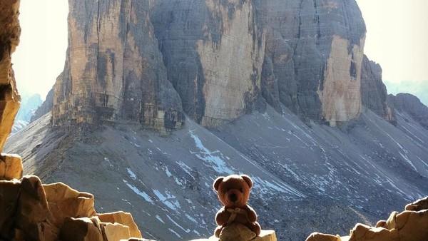 Pantai, gunung, air terjun, laut, lembah cantik telah dikunjungi Peep. (teddybearabroad/Instagram)