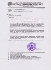 Beredar di Medsos, Surat Bantahan Soal Puncak Jokowi di Kerinci