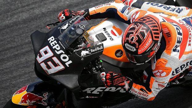 Marc Marquez tetap diunggulkan untuk mempertahankan gelar di MotoGP 2018.