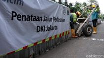 Sandi Harap Penataan Trotoar di Sudirman Rampung Sebelum Asian Games