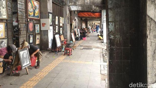 Balada Pelukis Jalanan Kota Tua Berharap Perhatian Pemda
