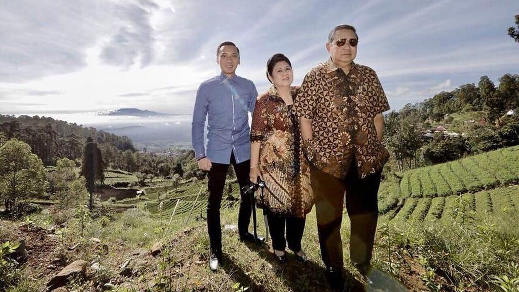 Saat Ani Yudhoyono Memuji Keindahan Gunung Lawu
